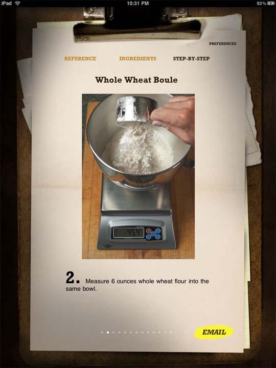 bread baking app for ipad