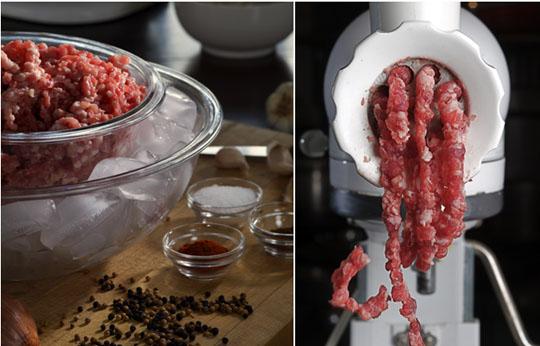 sausage making technique