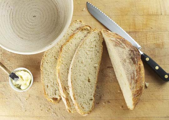 bread without a mixet